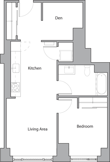 1 Bedroom, Shawmut Rental in Boston, MA for $3,220 - Photo 1