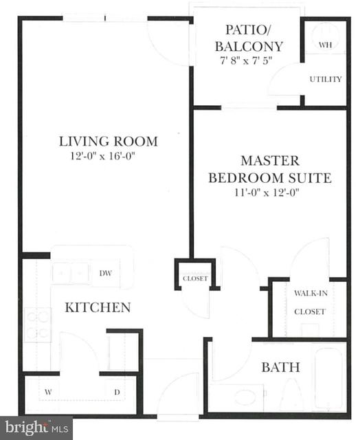 1 Bedroom, Scotts Run Crossing Rental in Washington, DC for $1,600 - Photo 2