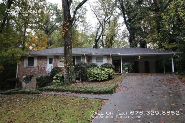 3 Bedrooms, DeKalb County Rental in Atlanta, GA for $1,900 - Photo 1