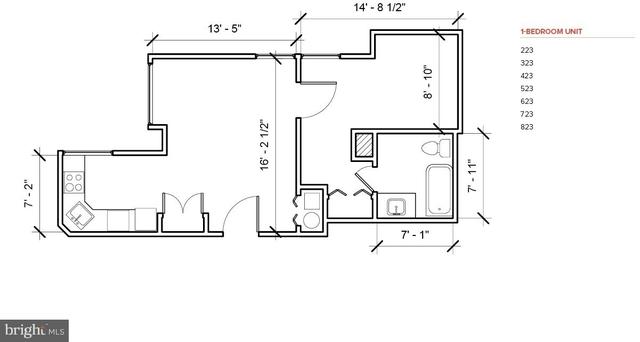 1 Bedroom, Center City West Rental in Philadelphia, PA for $1,500 - Photo 2