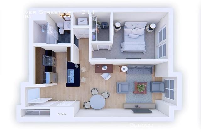 1 Bedroom, West Codman Hill - West Lower Mills Rental in Boston, MA for $2,150 - Photo 2