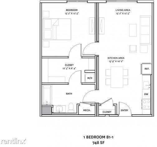 1 Bedroom, Medford Street - The Neck Rental in Boston, MA for $2,788 - Photo 1