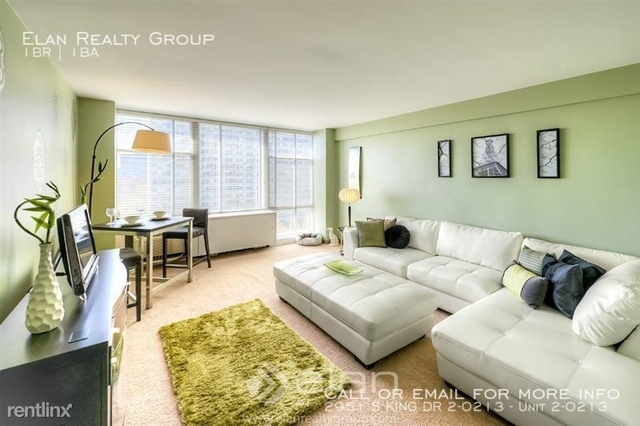 1 Bedroom, Prairie Shores Rental in Chicago, IL for $1,088 - Photo 1