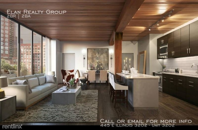 2 Bedrooms, Streeterville Rental in Chicago, IL for $4,655 - Photo 1