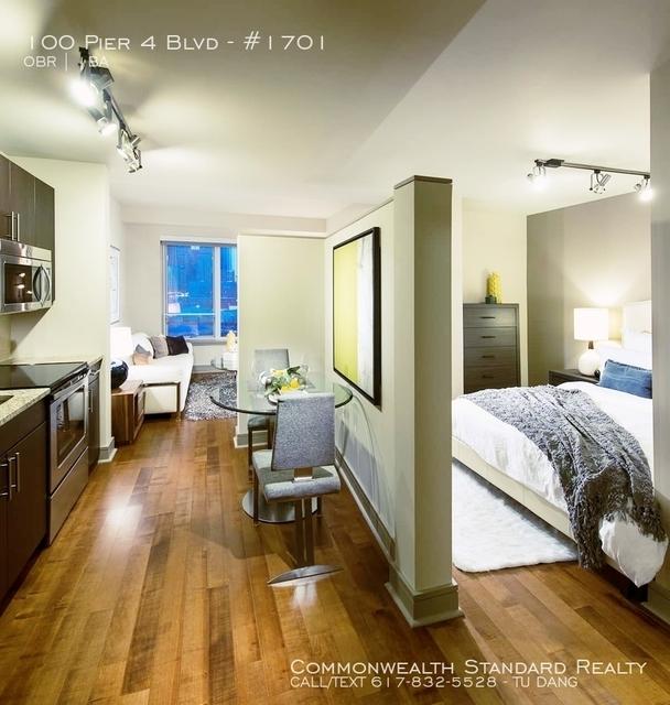 Studio, Seaport District Rental in Boston, MA for $3,295 - Photo 2