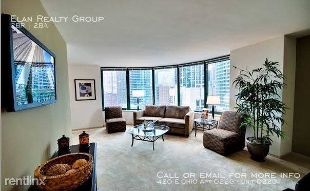 2 Bedrooms, Gold Coast Rental in Chicago, IL for $3,332 - Photo 1