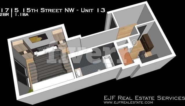 2 Bedrooms, Logan Circle - Shaw Rental in Washington, DC for $3,200 - Photo 2