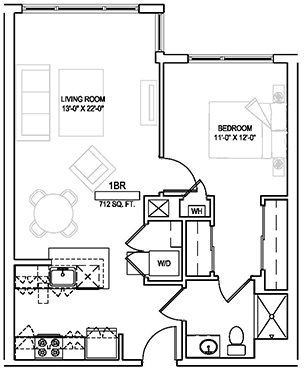 1 Bedroom, Faulkner Rental in Boston, MA for $2,107 - Photo 2