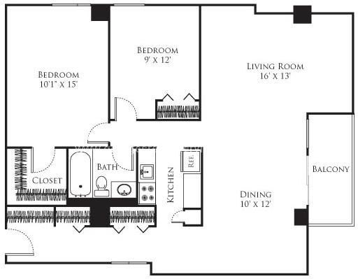1 Bedroom, Neighborhood Nine Rental in Boston, MA for $2,170 - Photo 2