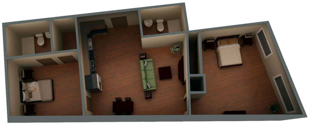 2 Bedrooms, Financial District Rental in Boston, MA for $3,700 - Photo 1