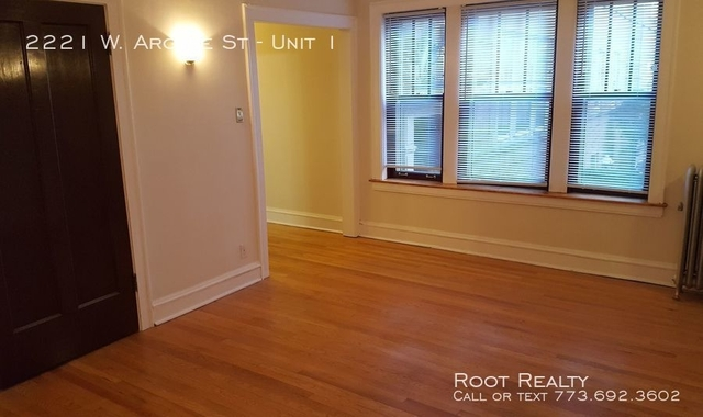 Studio, Ravenswood Rental in Chicago, IL for $960 - Photo 1