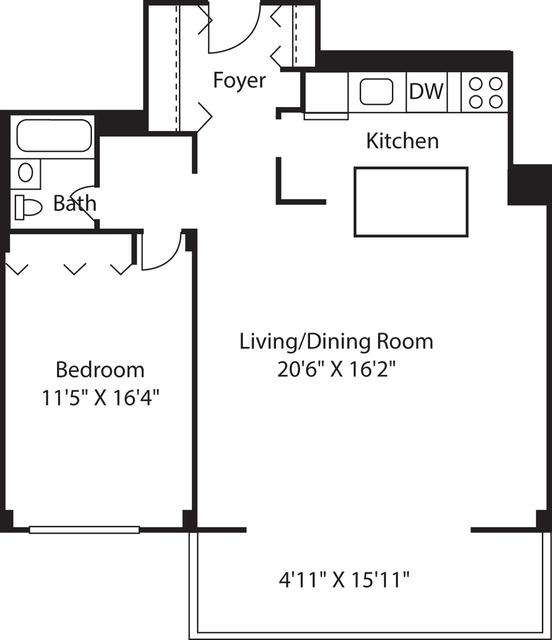 1 Bedroom, Downtown Boston Rental in Boston, MA for $2,750 - Photo 2