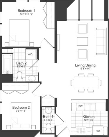 2 Bedrooms, Neighborhood Nine Rental in Boston, MA for $3,300 - Photo 2