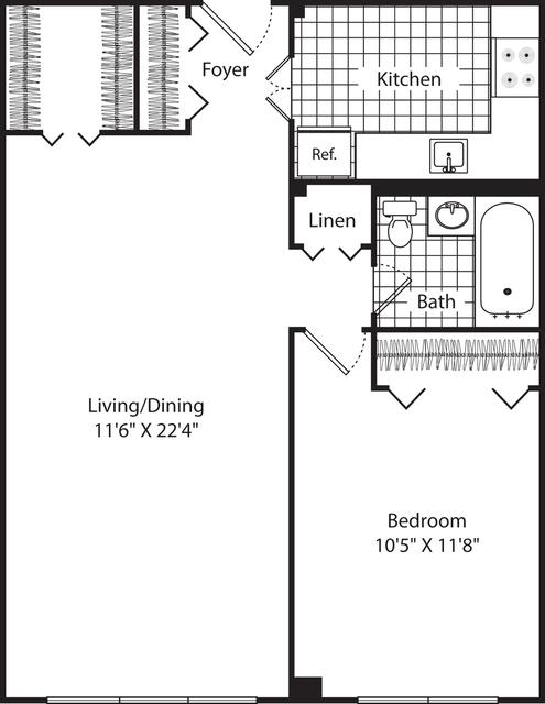 1 Bedroom, Neighborhood Nine Rental in Boston, MA for $2,225 - Photo 1