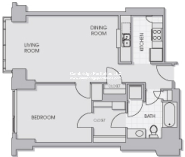 1 Bedroom, Cambridgeport Rental in Boston, MA for $2,900 - Photo 1
