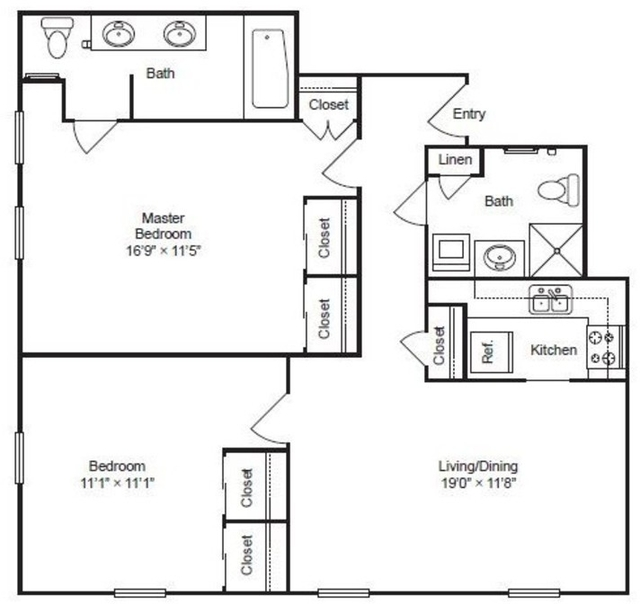2 Bedrooms, Gold Coast Rental in Chicago, IL for $5,411 - Photo 1