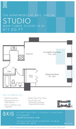 Studio, Gold Coast Rental in Chicago, IL for $1,595 - Photo 1