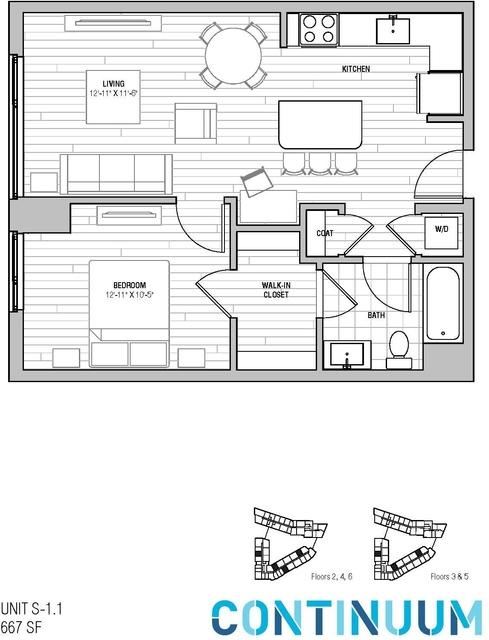 1 Bedroom, North Allston Rental in Boston, MA for $3,689 - Photo 1
