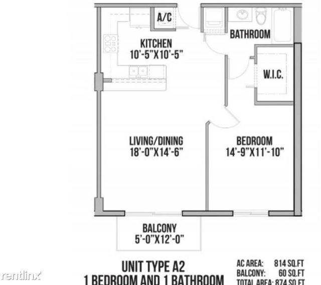 1 Bedroom, Overtown Rental in Miami, FL for $1,663 - Photo 2