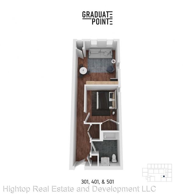 1 Bedroom, Graduate Hospital Rental in Philadelphia, PA for $1,510 - Photo 2