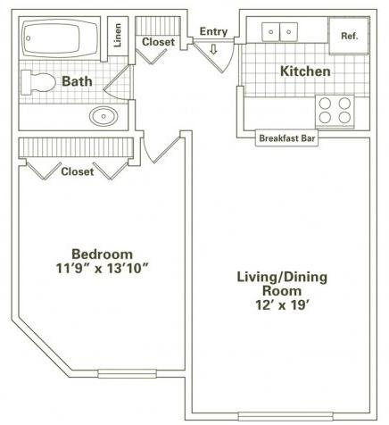 1 Bedroom, Oak Park Rental in Chicago, IL for $1,421 - Photo 2