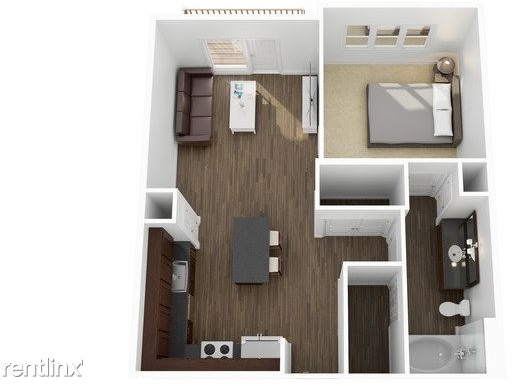 1 Bedroom, Hillcrest Forest Rental in Dallas for $1,084 - Photo 2