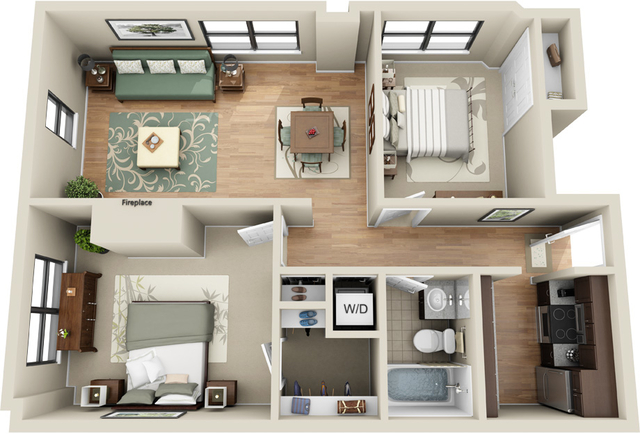 2 Bedrooms, Prudential - St. Botolph Rental in Boston, MA for $4,408 - Photo 1
