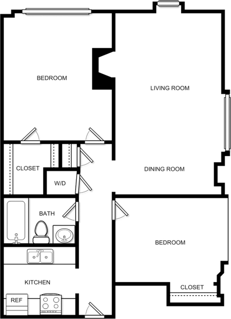 2 Bedrooms, Prudential - St. Botolph Rental in Boston, MA for $4,408 - Photo 2