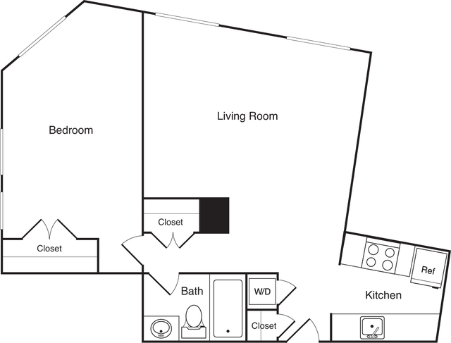 1 Bedroom, Financial District Rental in Boston, MA for $3,455 - Photo 1