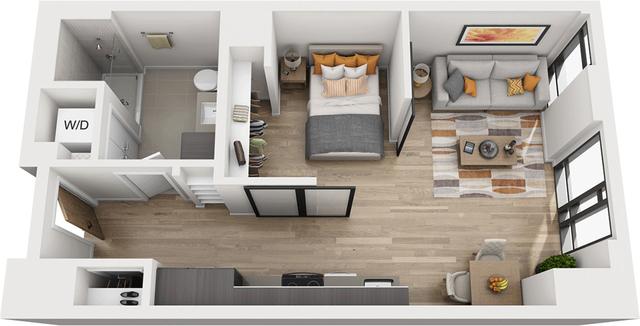 1 Bedroom, Shawmut Rental in Boston, MA for $3,397 - Photo 1