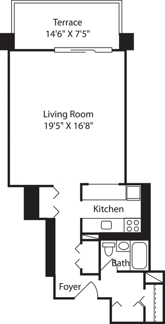 Studio, West End Rental in Boston, MA for $2,645 - Photo 1