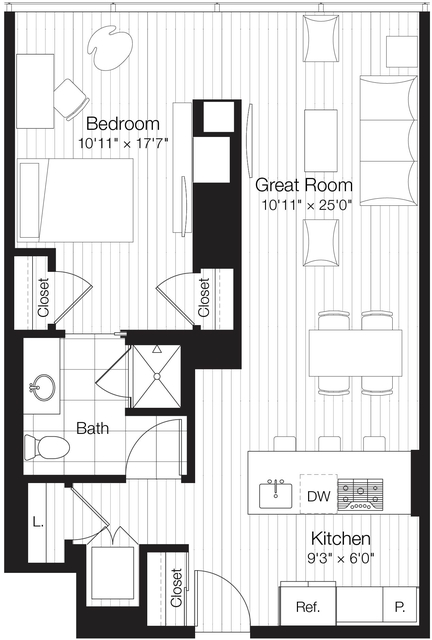1 Bedroom, Streeterville Rental in Chicago, IL for $2,850 - Photo 1