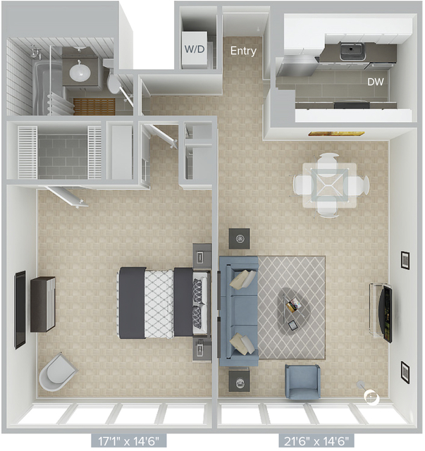 1 Bedroom, Prudential - St. Botolph Rental in Boston, MA for $3,315 - Photo 1