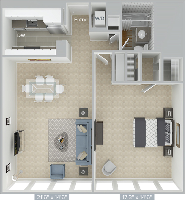 1 Bedroom, Prudential - St. Botolph Rental in Boston, MA for $3,210 - Photo 1