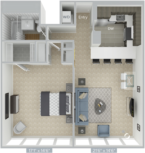 1 Bedroom, Prudential - St. Botolph Rental in Boston, MA for $3,490 - Photo 1