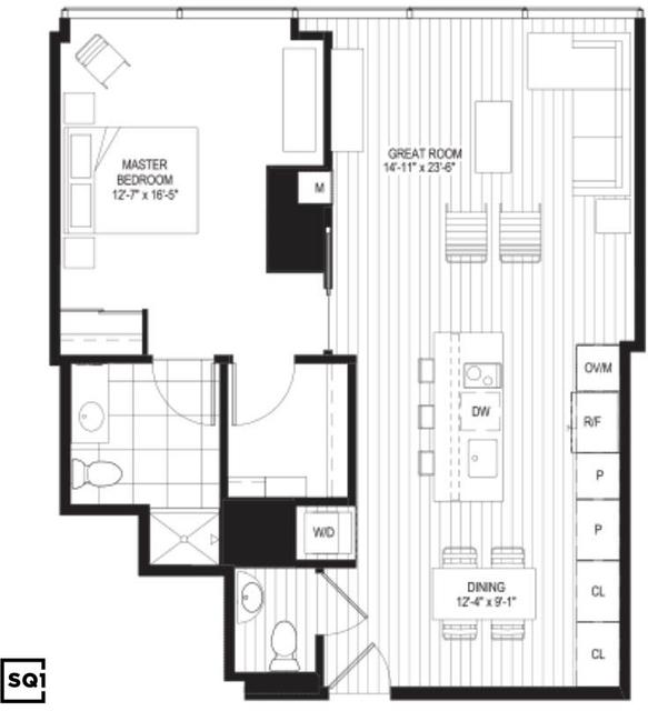 2 Bedrooms, Streeterville Rental in Chicago, IL for $3,195 - Photo 2