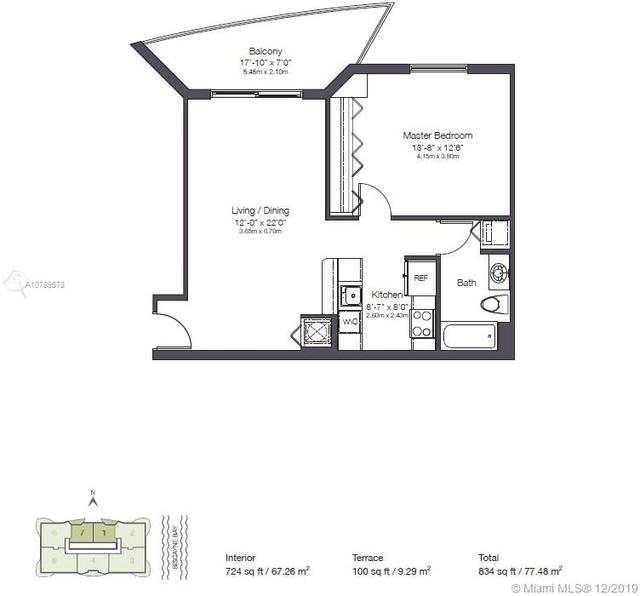 1 Bedroom, Shorelawn Rental in Miami, FL for $1,850 - Photo 2
