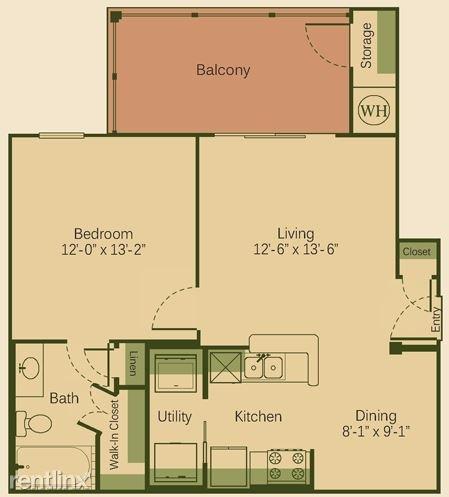 1 Bedroom, Fenway Park Rental in Austin-Round Rock Metro Area, TX for $1,210 - Photo 1