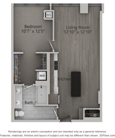1 Bedroom, Fulton Market Rental in Chicago, IL for $2,600 - Photo 1