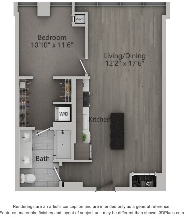 1 Bedroom, Fulton Market Rental in Chicago, IL for $2,635 - Photo 1