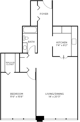 1 Bedroom, The Loop Rental in Chicago, IL for $1,930 - Photo 2