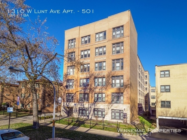 1 Bedroom, Rogers Park Rental in Chicago, IL for $1,100 - Photo 1