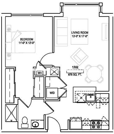 1 Bedroom, Faulkner Rental in Boston, MA for $2,165 - Photo 2