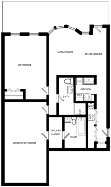 2 Bedrooms, Prudential - St. Botolph Rental in Boston, MA for $4,577 - Photo 2