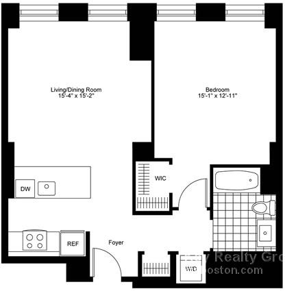 1 Bedroom, Bay Village Rental in Boston, MA for $4,550 - Photo 2