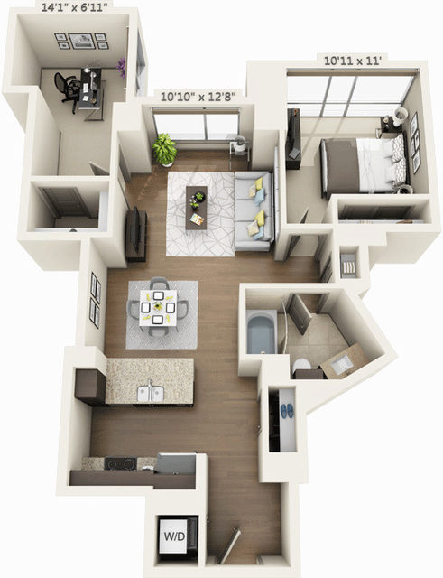 1 Bedroom, Seaport District Rental in Boston, MA for $4,202 - Photo 1