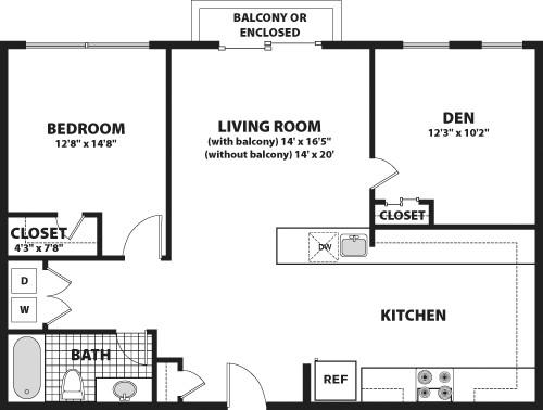 1 Bedroom, Bank Square Rental in Boston, MA for $2,260 - Photo 1