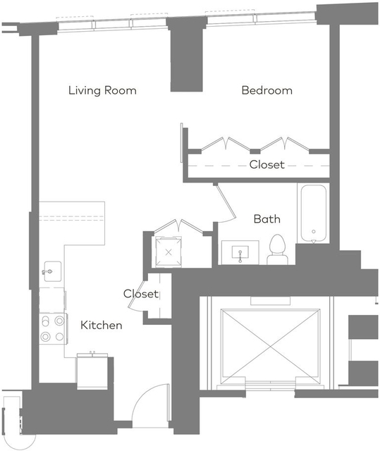 1 Bedroom, West Fens Rental in Boston, MA for $4,049 - Photo 1
