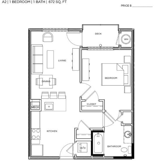 1 Bedroom, North Cambridge Rental in Boston, MA for $2,480 - Photo 2