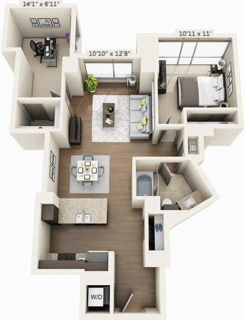 1 Bedroom, Seaport District Rental in Boston, MA for $4,208 - Photo 1